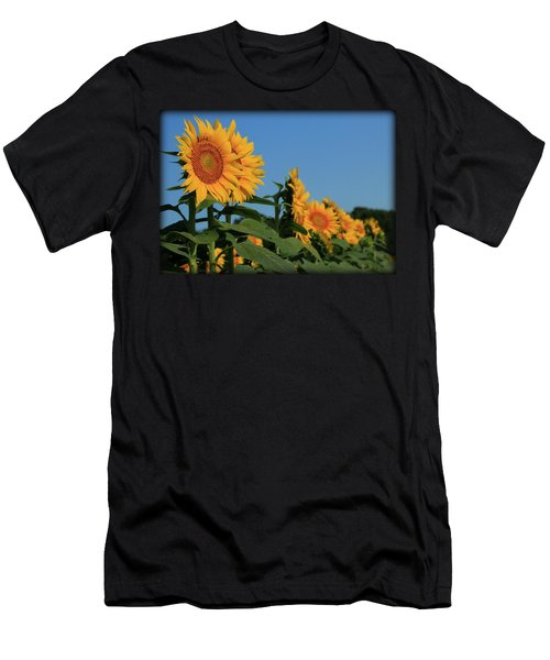 Men's T-Shirt (Slim Fit) featuring the photograph Facing East by Chris Berry
