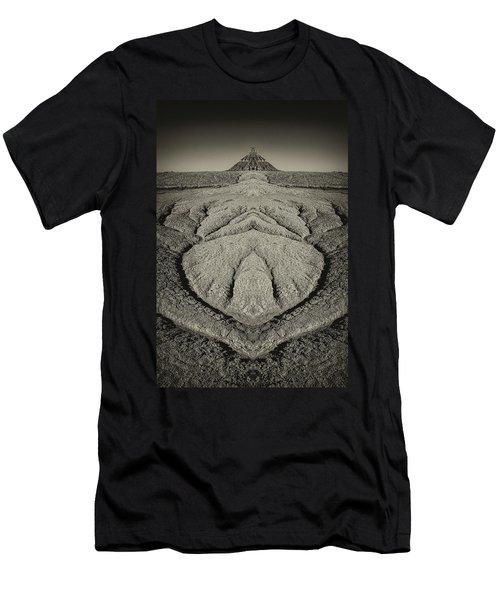 Factory Butte Digital Art Men's T-Shirt (Athletic Fit)