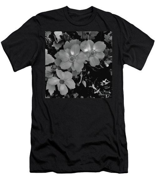 Faded Flowers Men's T-Shirt (Athletic Fit)