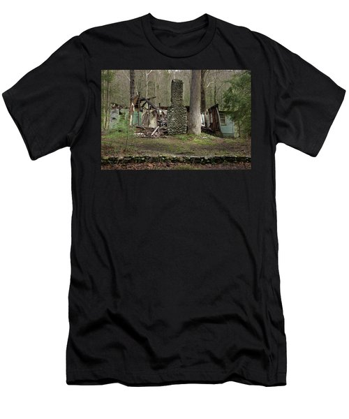 Men's T-Shirt (Slim Fit) featuring the photograph Fading Into Tomorrow by Mike Eingle
