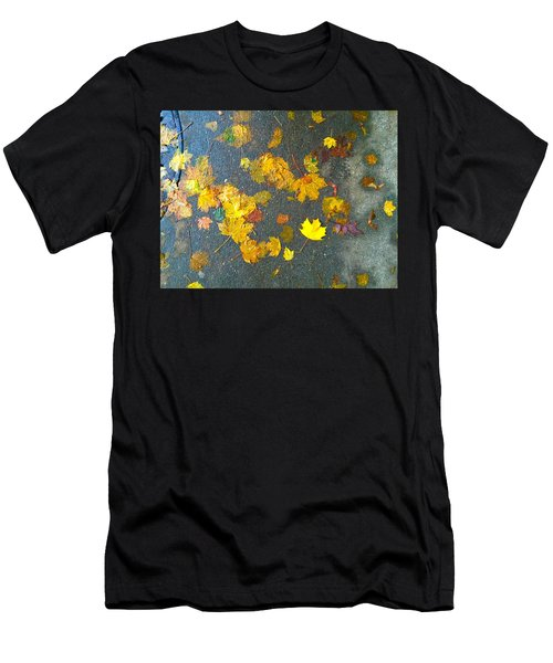 Fading Leaves Men's T-Shirt (Athletic Fit)