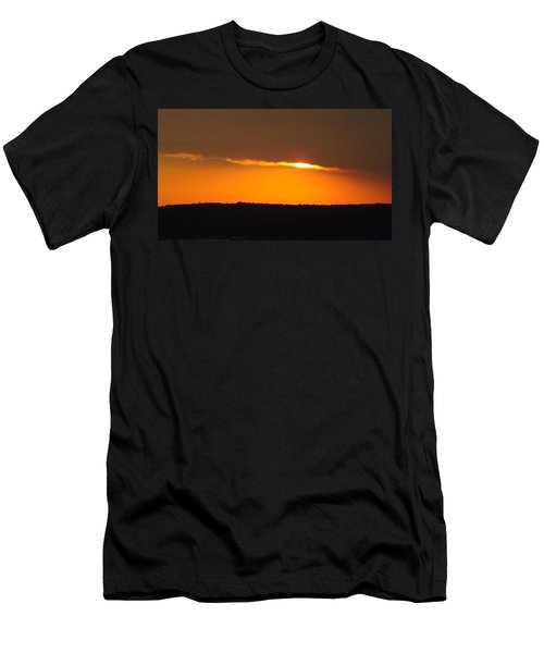 Fading Sunset  Men's T-Shirt (Slim Fit) by Don Koester