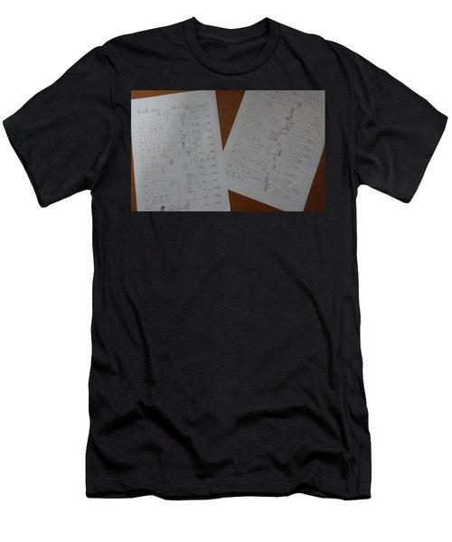 Faint Memory Table Men's T-Shirt (Athletic Fit)