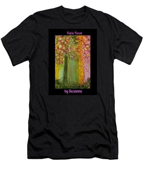 Fairie Forest Men's T-Shirt (Athletic Fit)