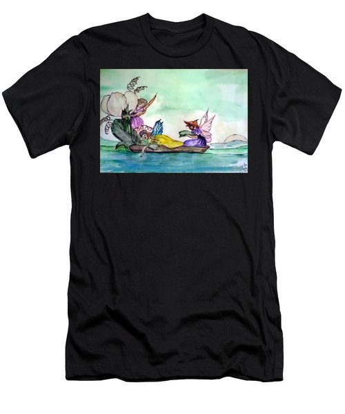 Fairies At Sea Men's T-Shirt (Athletic Fit)