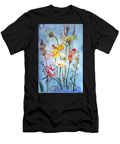 Fairy Babies Men's T-Shirt (Athletic Fit)