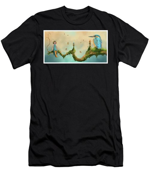 Fairy Chess Men's T-Shirt (Athletic Fit)