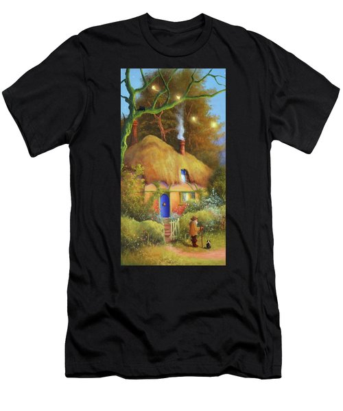 Fairy Cottage Men's T-Shirt (Athletic Fit)