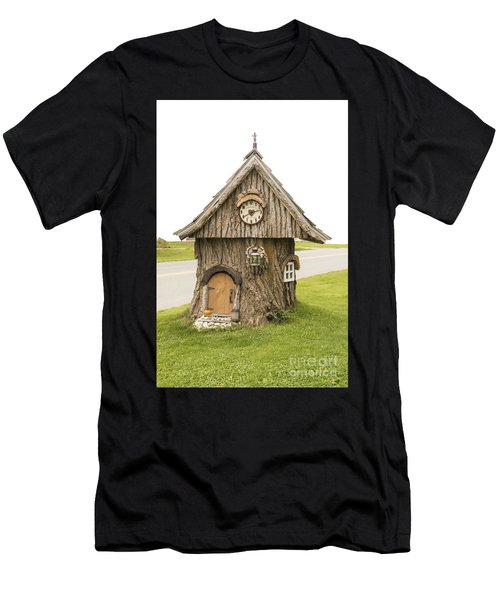 Fairy House In Vermont Men's T-Shirt (Athletic Fit)
