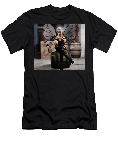 Fairy Piracy 1 Men's T-Shirt (Athletic Fit)