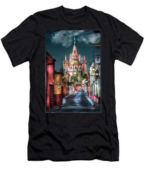Fairy Tale Street Men's T-Shirt (Athletic Fit)