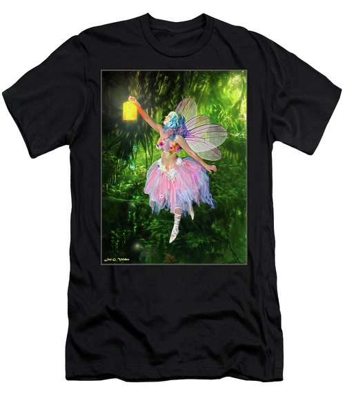 Fairy With Light Men's T-Shirt (Athletic Fit)