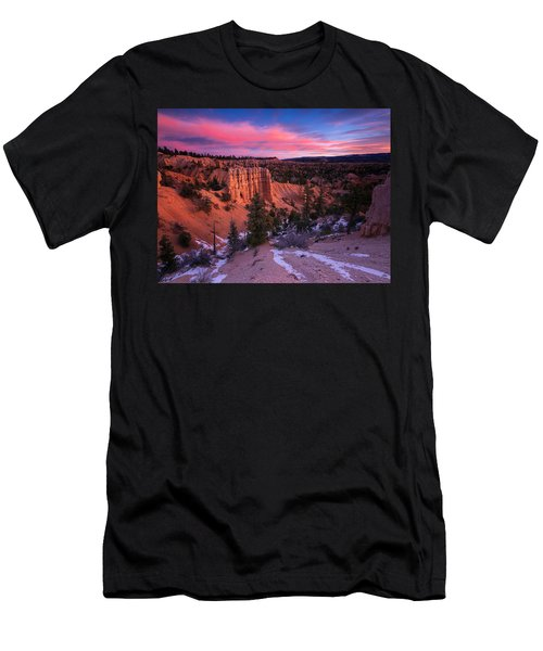 Men's T-Shirt (Athletic Fit) featuring the photograph Fairyland Loop Trail by Edgars Erglis