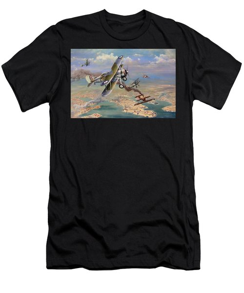 'faith, Hope And Charity' Men's T-Shirt (Athletic Fit)