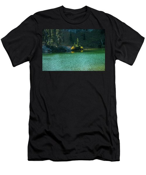 Fall Afternoon On Sheep Lake Men's T-Shirt (Athletic Fit)