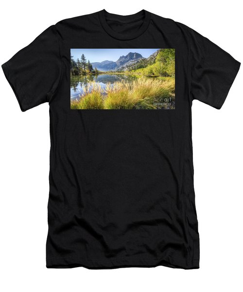 Fall Along The Creek Men's T-Shirt (Athletic Fit)