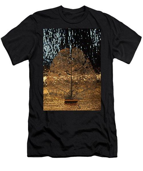 Fall At Door Men's T-Shirt (Athletic Fit)