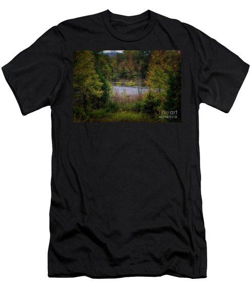 Fall At Fane Creek Men's T-Shirt (Athletic Fit)