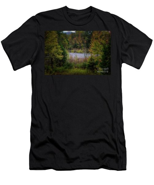 Fall At Fane Creek Men's T-Shirt (Athletic Fit)