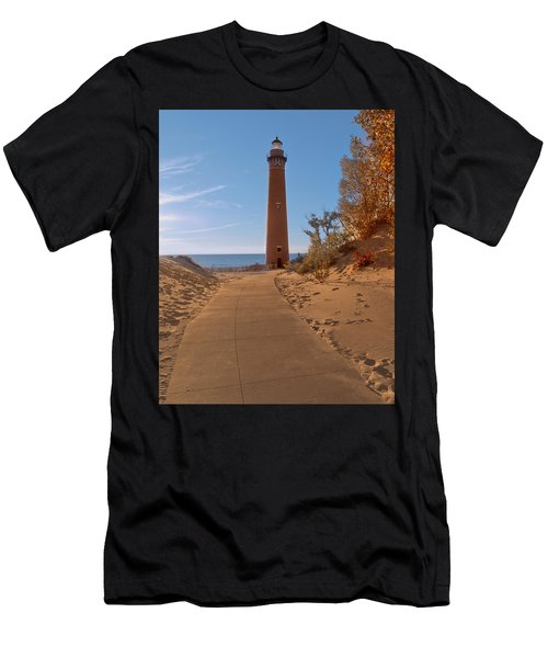 Fall At Little Point Sable Light Men's T-Shirt (Athletic Fit)