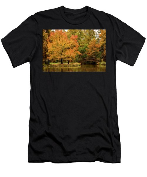 Fall At The Arboretum Men's T-Shirt (Athletic Fit)