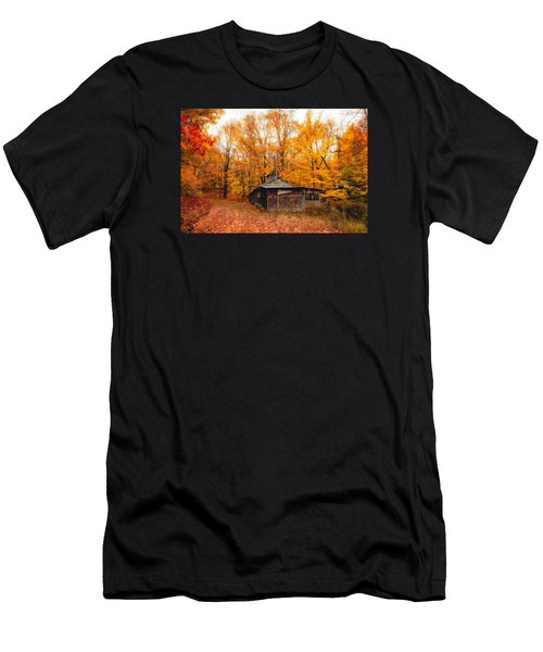 Fall At The Sugar House Men's T-Shirt (Athletic Fit)