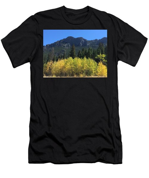 Fall At Twin Sisters Men's T-Shirt (Athletic Fit)