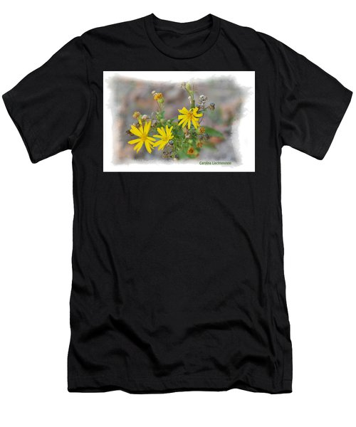 Fall Bloom In Texas I Men's T-Shirt (Athletic Fit)