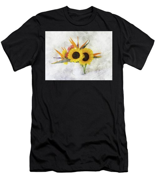 Men's T-Shirt (Athletic Fit) featuring the digital art Fall Bouquet by Sue Collura