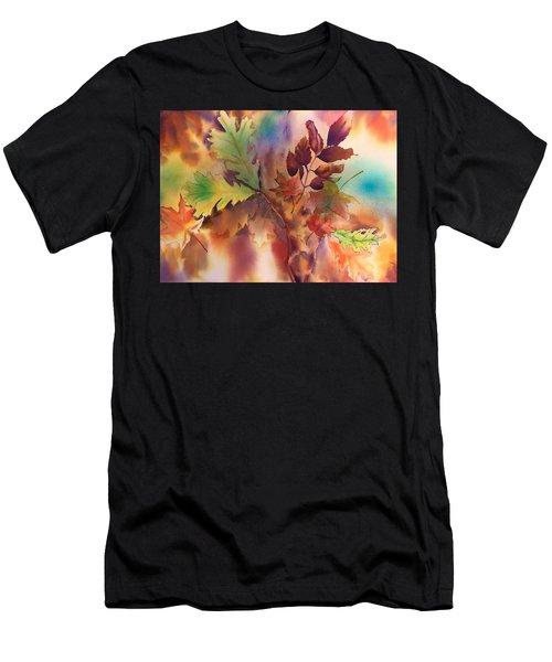 Fall Bouquet Men's T-Shirt (Athletic Fit)