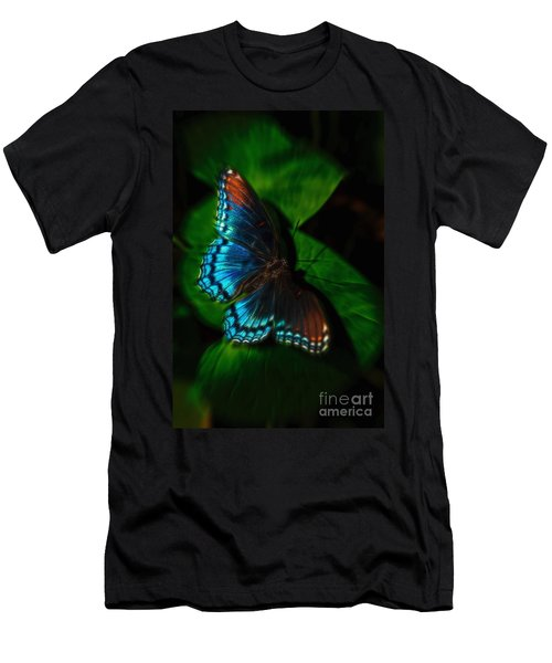 Fall Butterfly Men's T-Shirt (Athletic Fit)