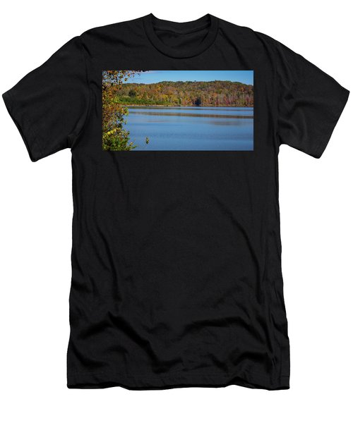 Fall Color At Lake Zwerner Men's T-Shirt (Athletic Fit)