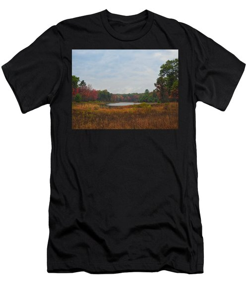 Fall Colors At Gladwin 4459 Men's T-Shirt (Athletic Fit)