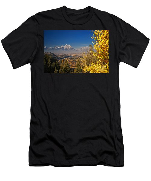 Fall Colors At The Snake River Overlook Men's T-Shirt (Athletic Fit)