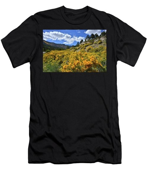 Fall Colors Come To Mt. Charleston Men's T-Shirt (Athletic Fit)
