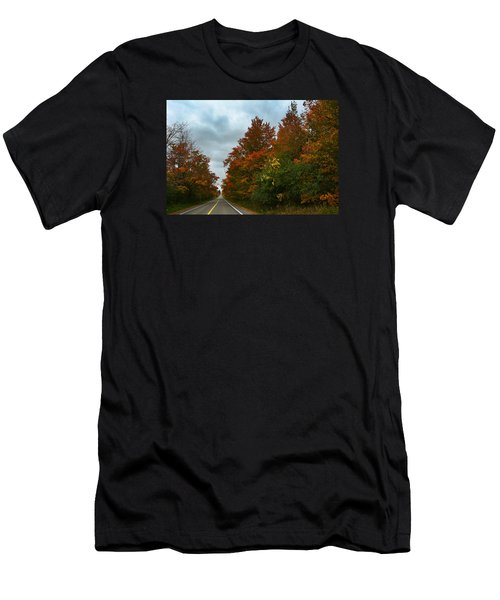 Fall Colors Dramatic Sky Men's T-Shirt (Athletic Fit)