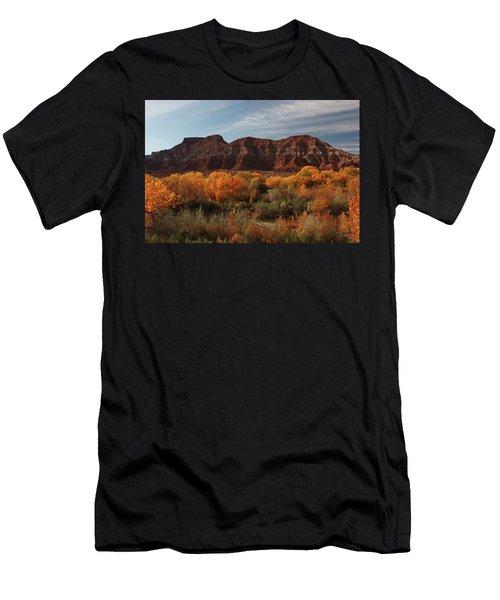Fall Colors Near Zion Men's T-Shirt (Athletic Fit)