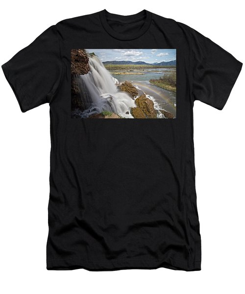 Fall Creek Falls Men's T-Shirt (Athletic Fit)