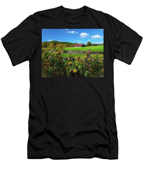 Fall Farm Men's T-Shirt (Athletic Fit)