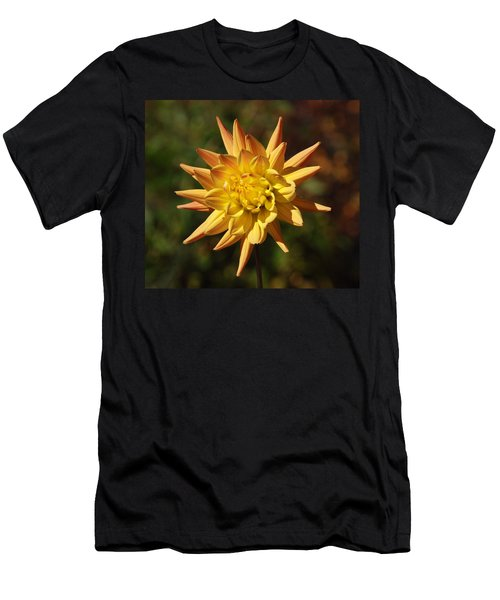Men's T-Shirt (Slim Fit) featuring the photograph Fall Flower by Richard Bryce and Family