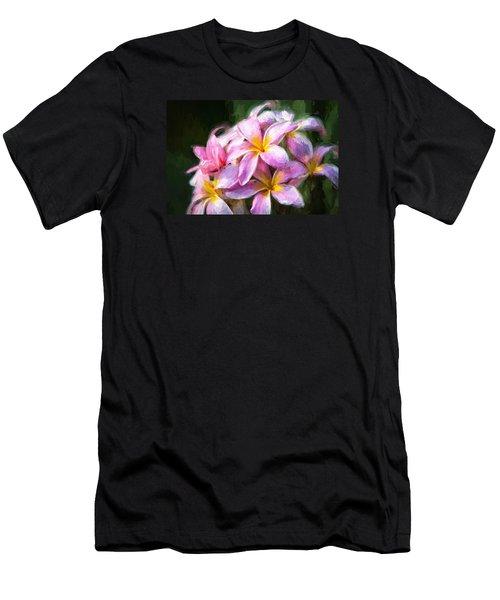 Fall Flowers V.2 Men's T-Shirt (Athletic Fit)