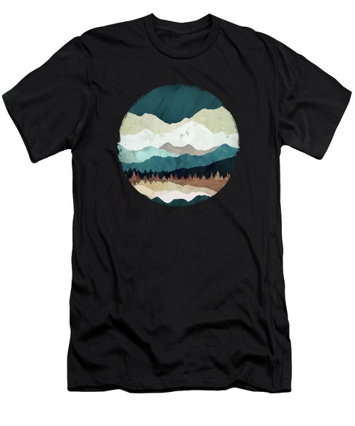 Fall Forest Night Men's T-Shirt (Athletic Fit)