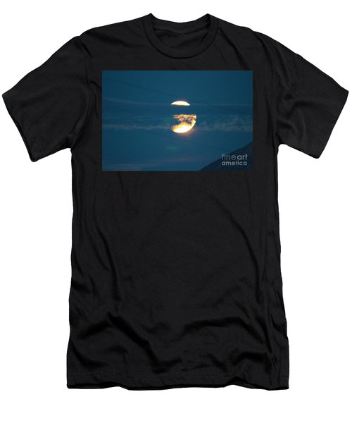 Fall Harvest Hunters Moon Eclipse  Men's T-Shirt (Athletic Fit)