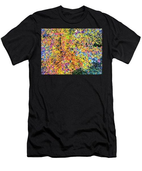 Fall Impressionism Men's T-Shirt (Athletic Fit)