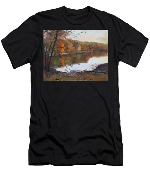 Fall In 7 Lakes Men's T-Shirt (Athletic Fit)