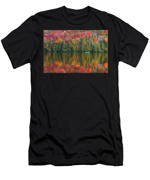 Fall In A Canoe Men's T-Shirt (Athletic Fit)