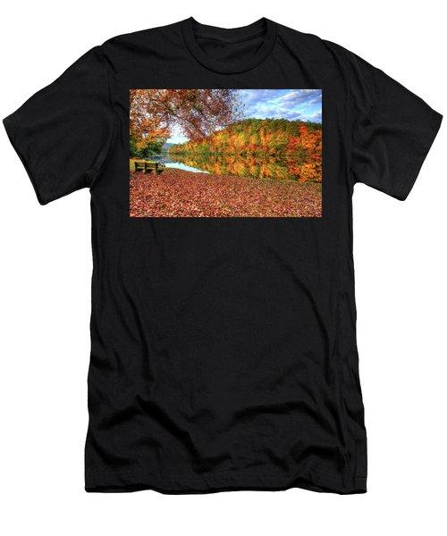 Fall In Murphy, North Carolina Men's T-Shirt (Athletic Fit)
