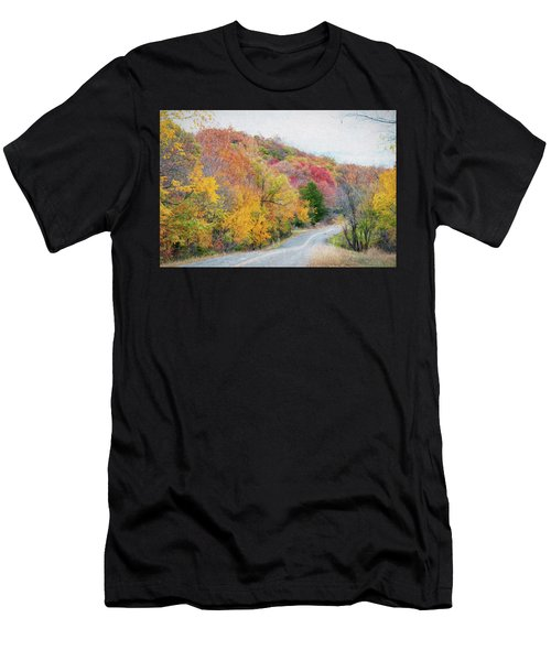 Fall In Southern Oklahoma Men's T-Shirt (Athletic Fit)