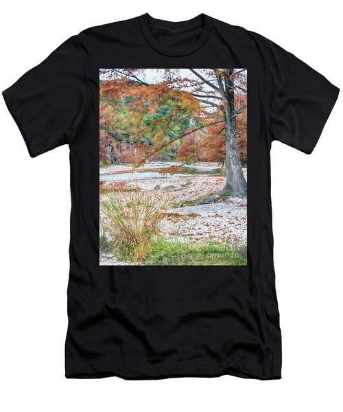 Fall In Texas Hills Men's T-Shirt (Athletic Fit)