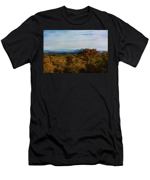 Fall In The Desert Men's T-Shirt (Athletic Fit)